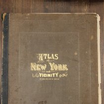 Image of Atlas of New York and Vicinity - cover