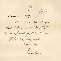 Image of 2005.002.001 - Letter