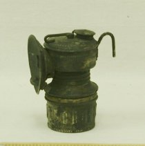 Image of Carbide lamp used by miners