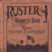 Image of 1918 Soldier Roster - Booklet