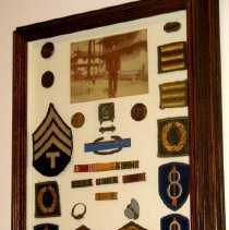 Image of Claude Posey WWII awards