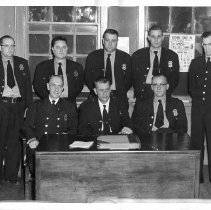 Image of 1956 Cartersville Police Department - Print, Photographic
