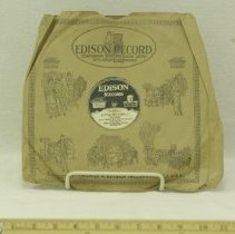 Image of 1914-1924 Edison Brand Record - Record, Phonograph