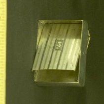 Image of Corra Harris' Sterling Silver Cigarette Case