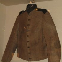 Image of Butternut Confederate Soldier Jacket