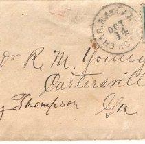 Image of 1878 Letter - Letter