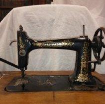 Image of 1904 Standard Treadle Sewing Machine - Machine, Sewing