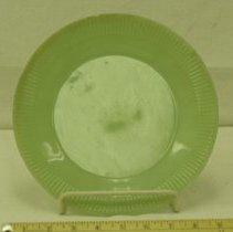 Image of 1930s Jadeite Glass Plate