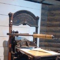 Image of Washington hand press