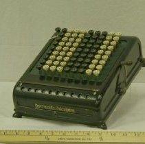 Image of 1920s Burroughs Manual Adding Machine - Machine, Adding