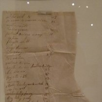 Image of Ca. 1840s Directions to Cass County From South Carolina