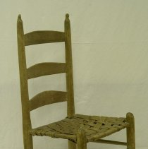 Image of Mid-1800s Wooden Wagon Chair