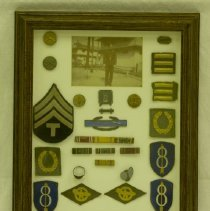 Image of Claude Posey WWII Patches & Pins