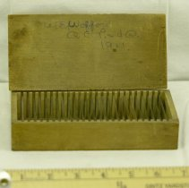 Image of Dr. Wofford Microscope Slides