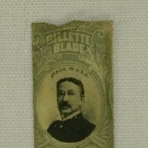 Image of Early 1900s Gillette Razor Blade