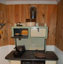 Image of Enamel cook stove