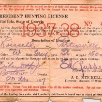 Image of Hunting License