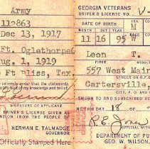 Image of Driver's License
