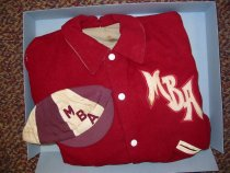 Image of E. Thos. Wood-Letter Jacket - 1982
