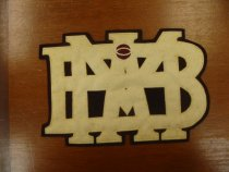 Image of MBA Basketball Letter Patch - n.d.