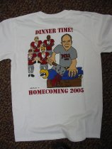 Image of 2005 MBA Homecoming T-Shirt (Back) - 2005
