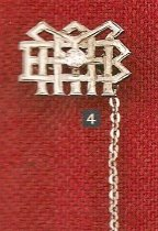 Image of Lavalier pin owned by Nicholas Arthur Wenning, MBA Class of 1923 - 1923