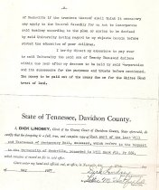 Image of Page 2 of Montgomery Bell's Deed Will