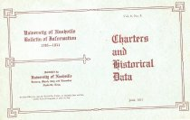 Image of Cover of 1911 Bulletin