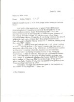 Image of Ridley Wills Memo about Ewing Letter