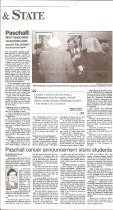Image of Nashville Banner Articles about Dr. Paschall - p. 2