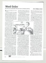 Image of E. Thomas Wood Article About Mary Helen Lowry - page 1