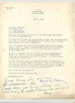 Image of Malone Correspondences 1934 - page 20