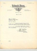 Image of Malone Correspondences 1934 - page 34