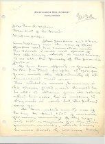 Image of Malone Correspondences 1934 - page 46