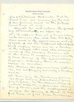 Image of Malone Correspondences 1934 - page 47