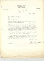 Image of Malone Correspondences 1934 - page 51