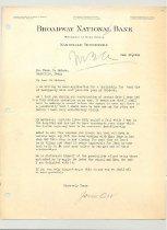 Image of Malone Correspondences 1934 - page 53