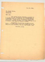 Image of Malone Correspondences 1934 - page 56