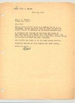 Image of Malone Correspondences 1934 - page 70