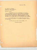 Image of Malone Correspondences 1934 - page 85
