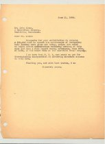Image of Malone Correspondences 1934 - page 87