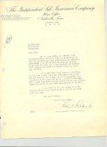 Image of Malone Correspondences 1932 - page 11