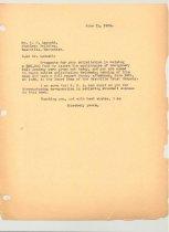 Image of Malone Correspondences 1934 - page 88