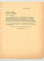 Image of Malone Correspondences 1934 - page 91