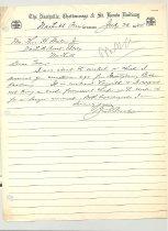 Image of Malone Correspondences 1934 - page 122