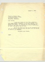 Image of Malone Correspondences 1934 - page 127