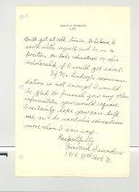 Image of Malone Correspondences 1933 - page 2
