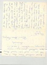 Image of Malone Correspondences 1935 - page 2