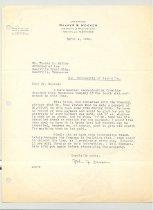 Image of Malone Correspondences 1935 - page 8