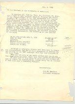 Image of Malone Correspondences 1933 - page 3